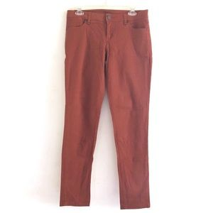 willi smith Rust Colored Skinny Jeans